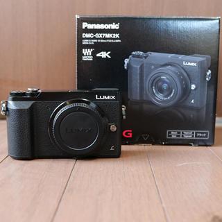 Panasonic - LUMIX gx7mk2 ボディ パナソニック DMC-GX7MK2