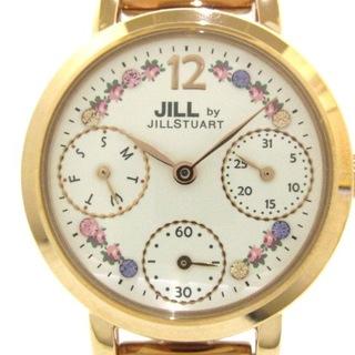 ジルスチュアート(JILLSTUART)のジルスチュアート 腕時計美品  VD75-KC80(腕時計)