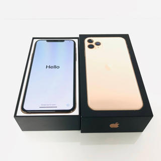 iPhone - iPhone11pro max 256GB ゴールド simフリー