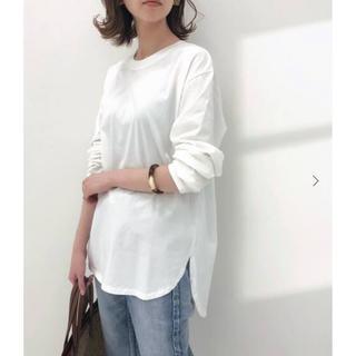 イエナ(IENA)のイエナ 20SS ラウンドテールロングTシャツ 新品タグつき(Tシャツ(長袖/七分))