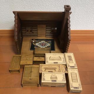 エポック(EPOCH)のシルバニアファミリー 丸太小屋 メモリータイム 初期 まとめ売り(ぬいぐるみ/人形)