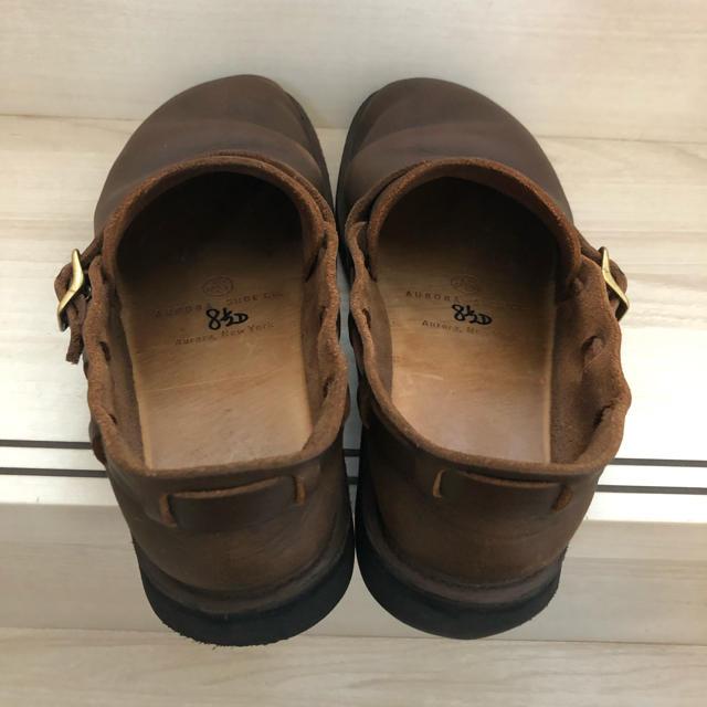 nest Robe(ネストローブ)のAURORA SHOES MIDDLE ENGLISH  8.5 レディースの靴/シューズ(ローファー/革靴)の商品写真