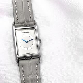 Saint Laurent - 【仕上済】イヴサンローラン スクエア シルバー レディース 腕時計