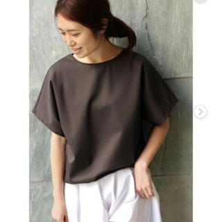 イエナ(IENA)のIENA C/Ny クルーネックTシャツ (Tシャツ(半袖/袖なし))