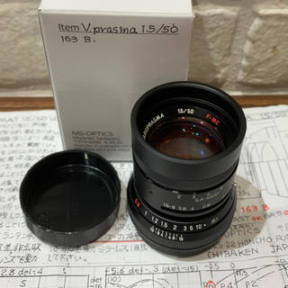 ライカ(LEICA)の宮崎光学 MS-optics Vario Prasma 50mm F1.5 (レンズ(単焦点))
