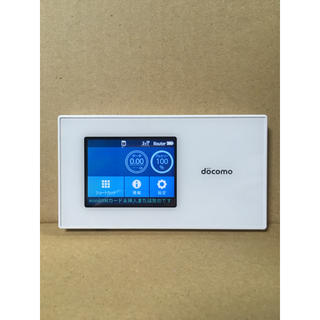 NTTdocomo - Docomo N-01H WiFiルーター SIMロック解除済 即購入可能