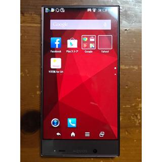 アクオス(AQUOS)のAQUOS / アクオス 402SH レッド Y!mobile スマートフォン(スマートフォン本体)