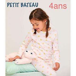 PETIT BATEAU - 新品 プチバトー 2020 SS  パジャマ 4ans  アニマル 女の子