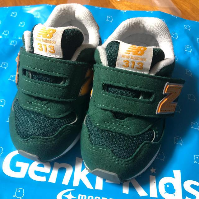 New Balance(ニューバランス)のニューバランス 靴 12.5cm キッズ/ベビー/マタニティのベビー靴/シューズ(~14cm)(スニーカー)の商品写真