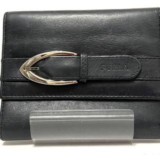 Furla - FURLA(フルラ) 3つ折り財布 - 黒 レザー