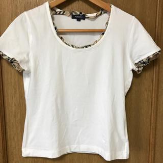 BURBERRY - バーバリー BURBERRY Tシャツ ホワイト 白 チェック フリル