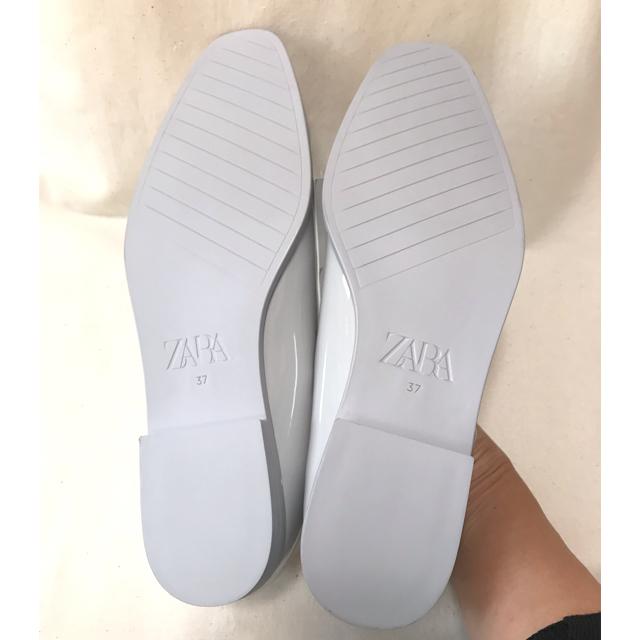 ZARA(ザラ)の❗️送料込み❗️新品未使用❤️オシャレZARAローヒーストラップシューズ24cm レディースの靴/シューズ(バレエシューズ)の商品写真