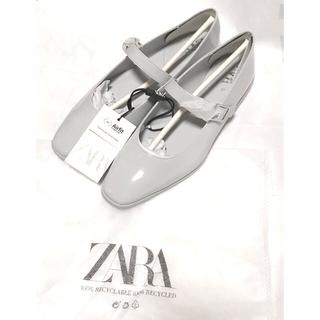 ZARA - 新品未使用❤️ZARA❤️ オシャレ ローヒールストラップシューズ 24cm
