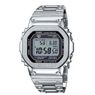 ジーショック(G-SHOCK)の新品未開封 G-SHOCK GMW-B5000D-1JF フルメタルシルバー(腕時計(デジタル))