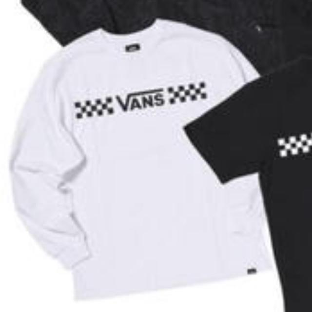 VANS白ロンT 福袋 メンズのトップス(Tシャツ/カットソー(七分/長袖))の商品写真