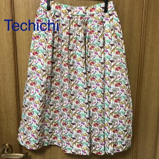テチチ(Techichi)のTe chichi テチチ アニマル柄 スカート M 動物(ひざ丈スカート)