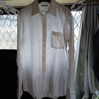 クリスチャンディオール Christian Dior シャツ ダブルカフス 美品