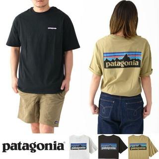patagonia - patagonia     P-6 ロゴ  オーガニック コットンTシャツ