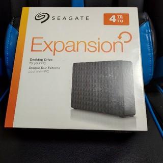エクスパンション(EXPANSION)のHDD 4TB SEAGATE Expansion(PC周辺機器)