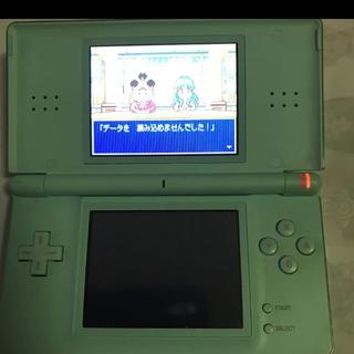 ニンテンドーDS(ニンテンドーDS)のDS lite  ブルー(携帯用ゲーム機本体)