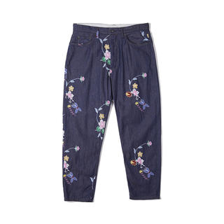 Engineered Garments - Engineered garments Denim Floral pants