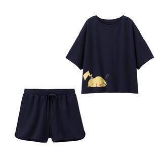 GU - gu ポケットモンスターコラボ ルームウェア パジャマ Sサイズ