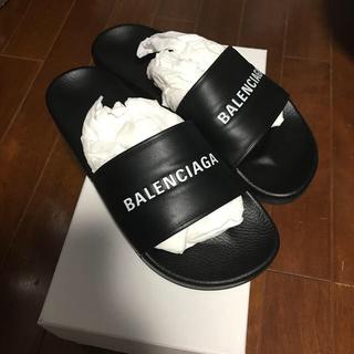 バレンシアガ(Balenciaga)のバレンシアガ 美品 シャワーサンダル 最終値下げ(サンダル)