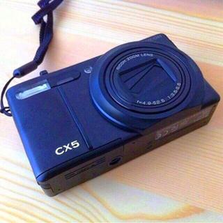 リコー(RICOH)の【美品】RICOH CX5 カメラ(コンパクトデジタルカメラ)