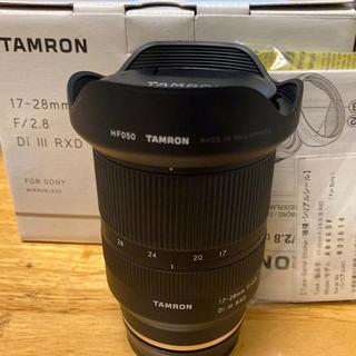 TAMRON - タムロン 17-28mm F2.8SONY Eマウント用 TAMRON
