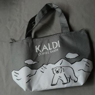 カルディ(KALDI)のKALDI オリジナルひんやり保冷バッグ レタスクラブ付録(弁当用品)