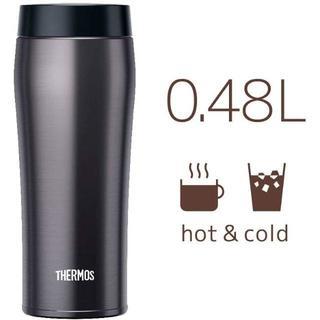 【大人気】サーモス 水筒 真空断熱ケータイタンブラー クールグレー 480ml