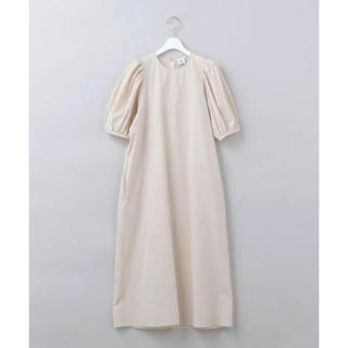 BEAUTY&YOUTH UNITED ARROWS - 人気完売品 希少 8/6まで限定値下げ VOLUME SLEEVE DRESS