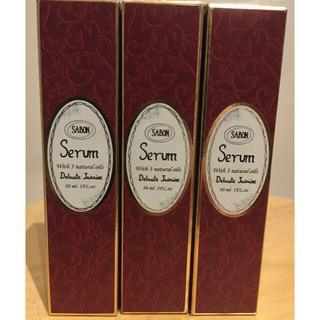 サボン(SABON)の新品!国内品! SABON サボン ヘアセラム ヘアオイル デリケートジャスミン(ヘアケア)