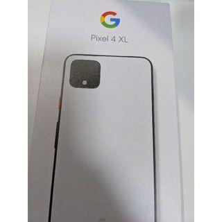 Softbank - 新品未使用 Google Pixel4 XL 64GB ホワイト SIMフリー