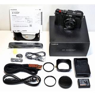 フジフイルム(富士フイルム)のFUJIFILM X100F ブラック 付属品完備・オプション多数付き (コンパクトデジタルカメラ)