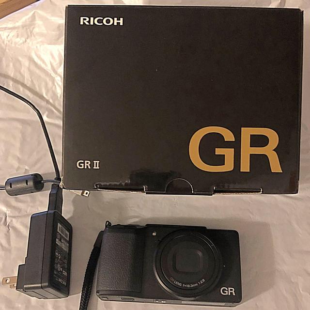 RICOH(リコー)のリコー GR II GR2  スマホ/家電/カメラのカメラ(ミラーレス一眼)の商品写真