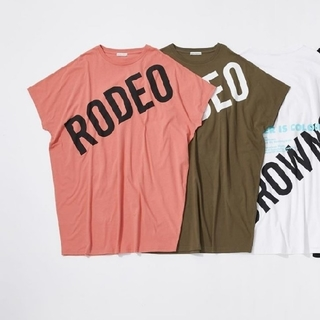 RODEO CROWNS WIDE BOWL - ドルマンTシャツワンピース