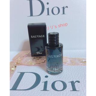 ディオール(Dior)のDIORディオール ソヴァージュ オードトワレ 10ml(香水(男性用))