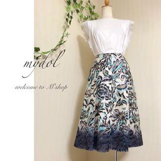 BOSCH - 東京スタイル ◆ マイルド  柄スカート ◆ 日本製