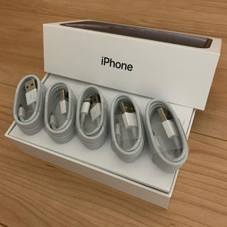 【送料込み】5本セット iPhone 充電器 充電ケーブル 純正品質