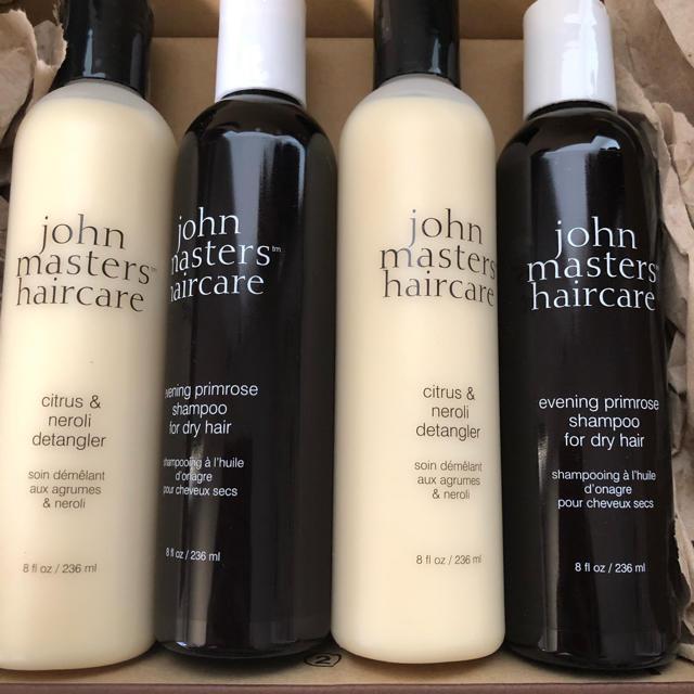 John Masters Organics(ジョンマスターオーガニック)の4本 ジョンマスター オーガニック シャンプー イブニングp c&n 236ml コスメ/美容のヘアケア/スタイリング(シャンプー)の商品写真