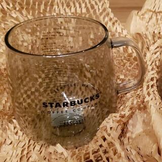 Starbucks Coffee - スターバックス 耐熱グラスマググレー 2個セット グラス マグ