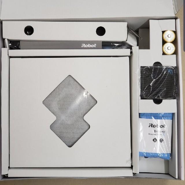 iRobot(アイロボット)のmia様先約 アイロボット ブラーバ380t 新品未使用 スマホ/家電/カメラの生活家電(掃除機)の商品写真