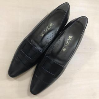 ワコール(Wacoal)の日本製 ワコール パンプス 黒(ハイヒール/パンプス)