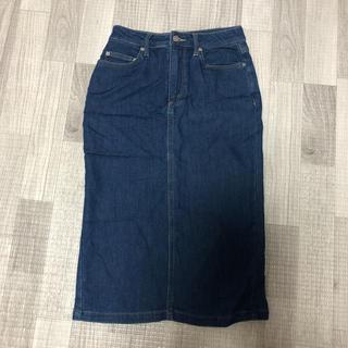 テチチ(Techichi)のルノンキュール  デニム スカート (ひざ丈スカート)