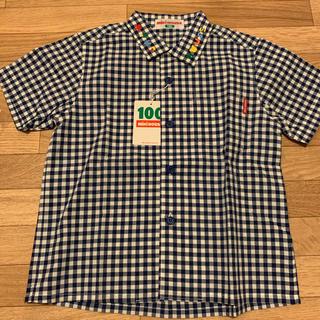 mikihouse - ミキハウス半袖 シャツ