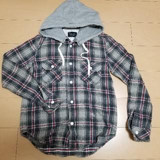 NUMBER (N)INE - ナンバーナイン THS オリジナル フードネルシャツ サイズ2 宮下貴裕