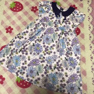 アナスイミニ(ANNA SUI mini)の新品未使用 アナスイミニ 猫襟 ワンピース(ワンピース)