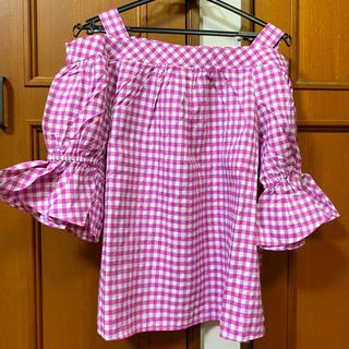 グローバルワーク(GLOBAL WORK)の量産型 オフショルトップス☆(Tシャツ(半袖/袖なし))