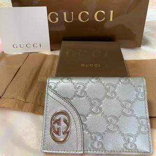 グッチ(Gucci)のグッチ パスケース ID カードケース(名刺入れ/定期入れ)